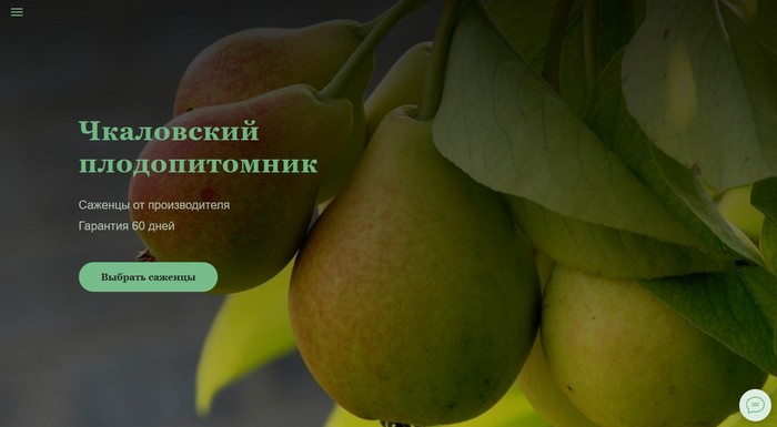 «Чкаловский» плодопитомник