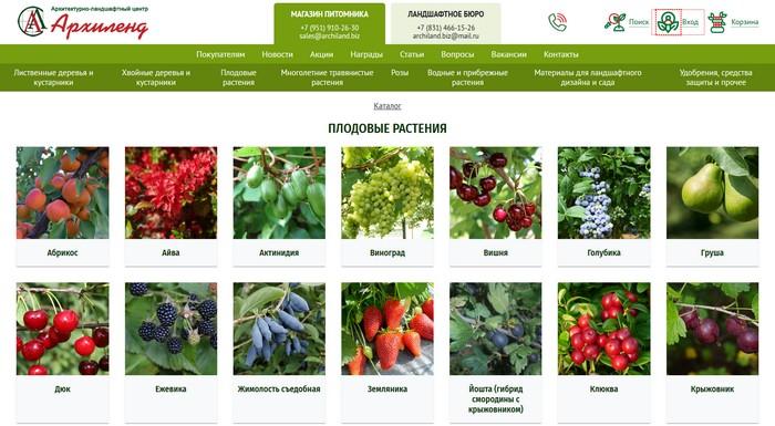 Питомник растений «Архиленд»